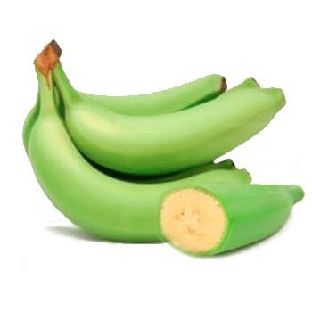 Platano hartón verde kilo (3 uds aprox)